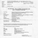Raport de test PanaSpacer - retentia de argon - SpA Vetro - Accredia - pagina 1